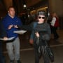 Ellen Page Leaves LAX