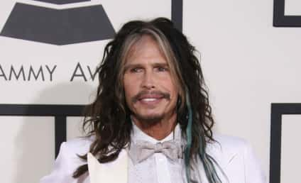 Steven Tyler Mustache Disrupts the Grammys, Stirs Viral Debate