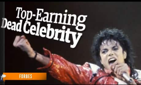 Michael Jackson: Top-Earning Dead Star
