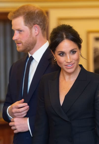 Meghan Markle Goes to See Hamilton