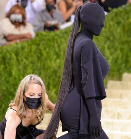 Kim Kardashian MET Gala Image