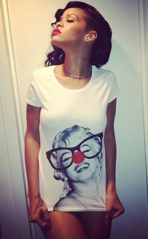Rihanna Bottomless Photo