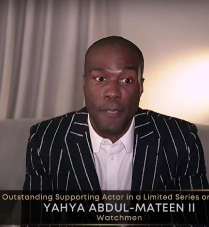 Yahya Abdul-Mateen II gana un Emmy