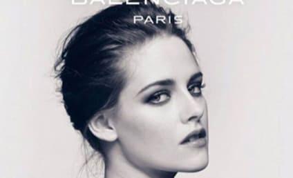 Kristen Stewart: Topless for Balenciaga!