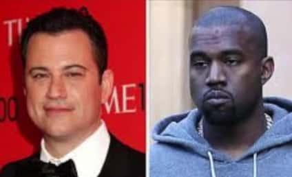 Kanye West Deletes Twitter Bashing of Jimmy Kimmel
