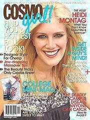 Heidi Montag in Cosmo Girl