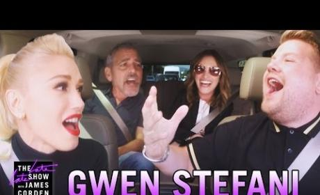 Gwen Stefani on Carpool Karaoke