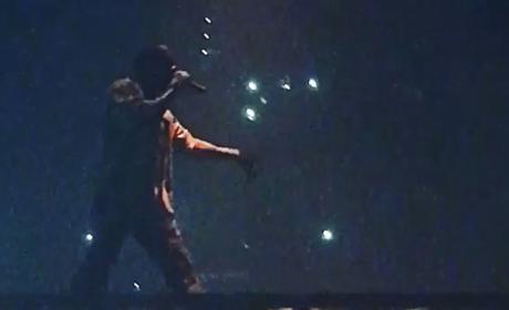 Kanye West Goes Off