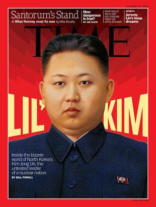 Kim Jong Un, Time Magazine