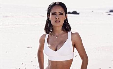 Salma Hayek Bikini Photo