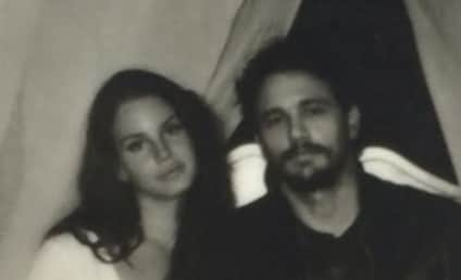 James Franco and Lana Del Rey: All Over Each Other on Instagram!