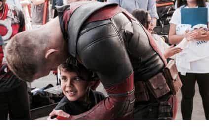 Ryan Reynolds Fulfills Wish of Boy Battling Cancer