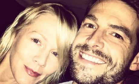 David Abrams with Jennie Garth