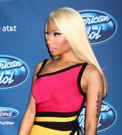 Nicki Minaj on the Red Carpet