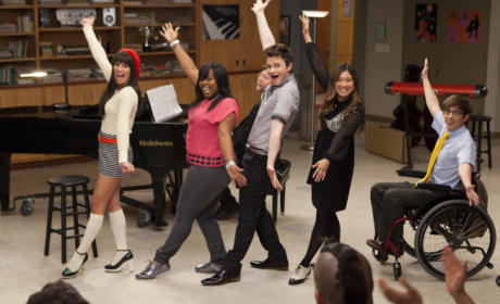 Glee Finale Photo