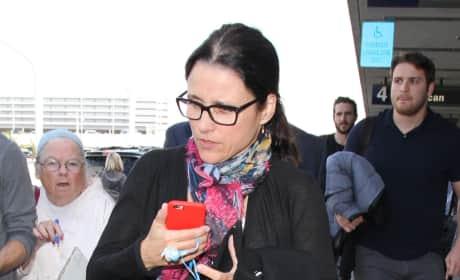 Julia Louis-Dreyfus arrives at LAX
