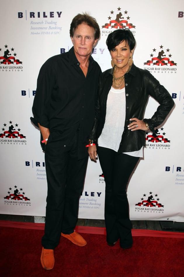Bruce Jenner and Kris Jenner Pic