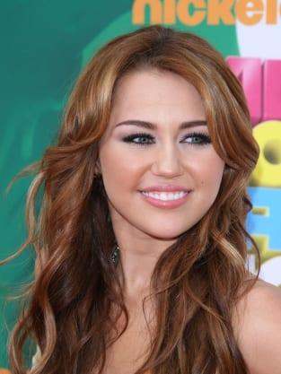 Miley Cyrus at Nickelodeon Kids Choice Awards