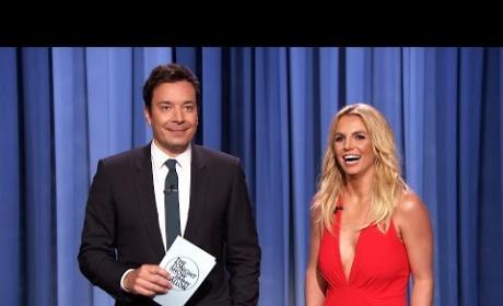 Britney Spears on Jimmy Fallon!