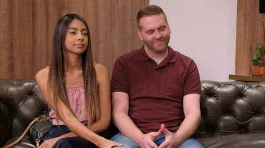 Melissa Zeta and Tim Clarkson in couples therapy