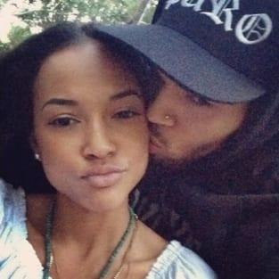 Karrueche Tran, Chris Brown Photograph