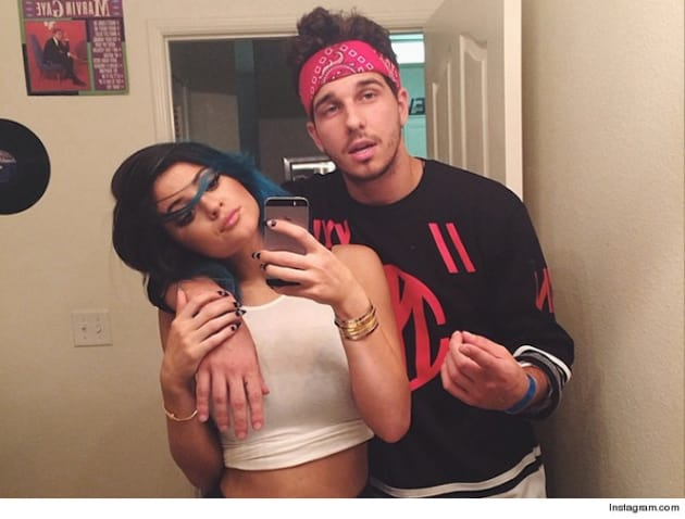 "Kylie Jenner With Male ""Friend"""