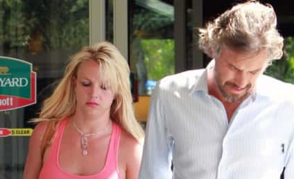 Britney Spears Looks Absolutely Miserable, Refuses to Wear a Bra, Attends Movie Premiere