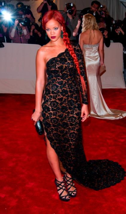Rihanna at the MET Costume Gala