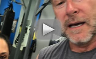 Dean McDermott Works Out