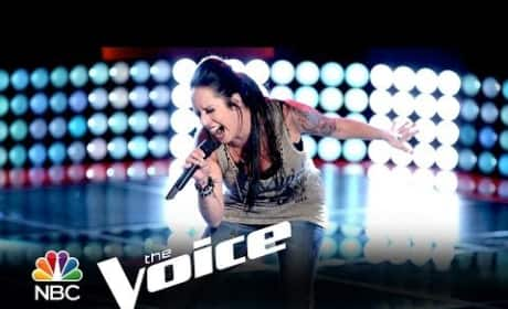 Kat Perkins: 'Gold Dust Woman' (The Voice Audition)