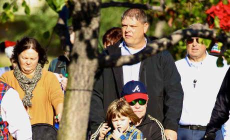 Elton John Celebrates His Son's Birthday at Disneyland