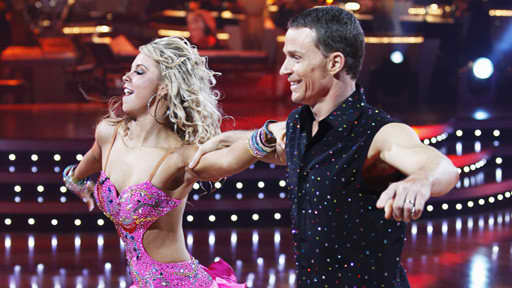 Ty Murray and Chelsie Hightower Dance