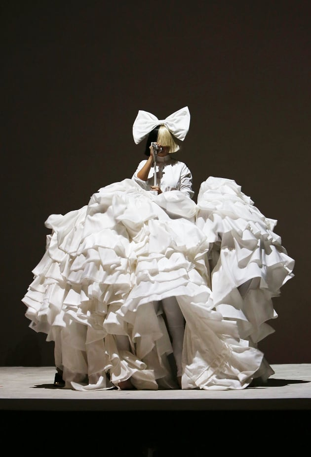 Sia With Her Performers