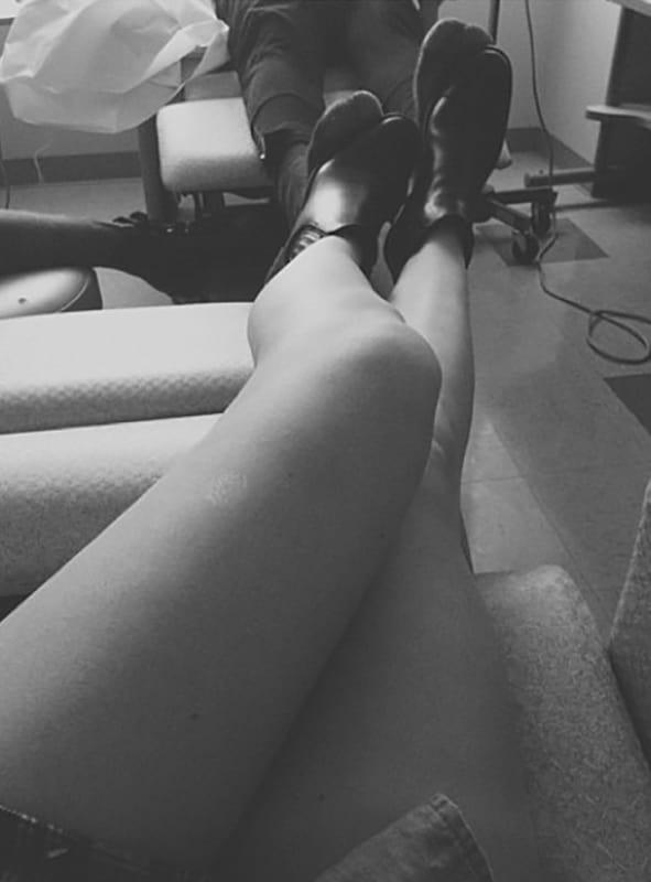 Kylie Jenner, Legs