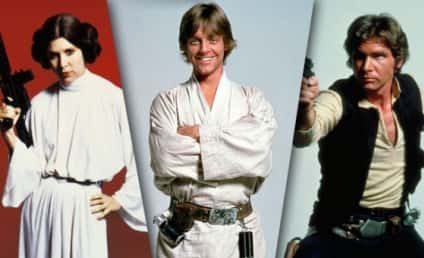 Star Wars Scoop: Harrison Ford, Mark Hamill & Carrie Fisher Due on Set Soon!