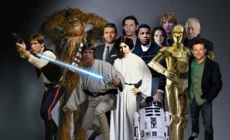 A Star Wars Cast Pic