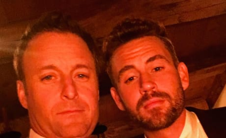 Nick Viall and Chris Harrison