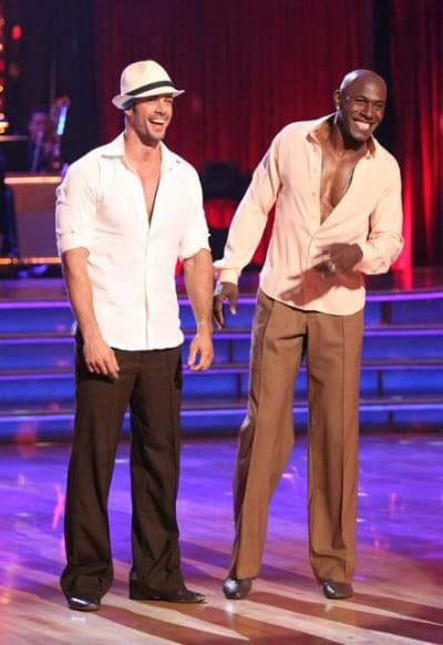 William Levy and Donald Driver