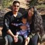Kalani and asuelu and their baby