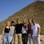 Kourtney Kardashian and Younes Bendjima and Friends in Egypt
