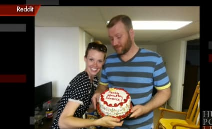 Woman Gifts Soon-To-Be Ex with Divorce Cake, Apologies for Split