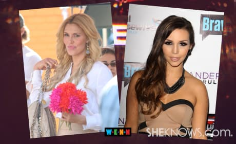 Brandi Glanville vs. Lisa Vanderpump (and Scheana Marie)