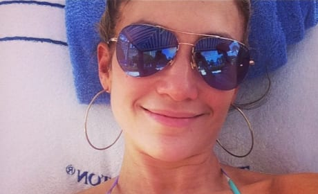 Jennifer Lopez, No Makeup