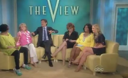 Whoopi Goldberg Lets One Rip on The View