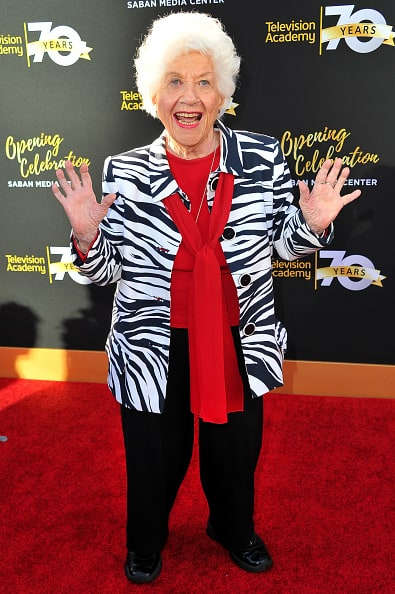 Charlotte Rae Attends Awards Show
