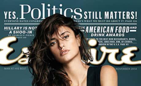Penelope Cruz Esquire Cover