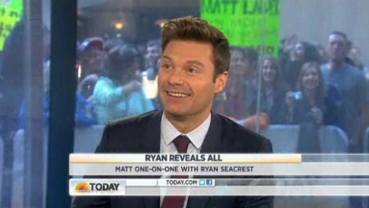 Ryan Seacrest on The Today Show