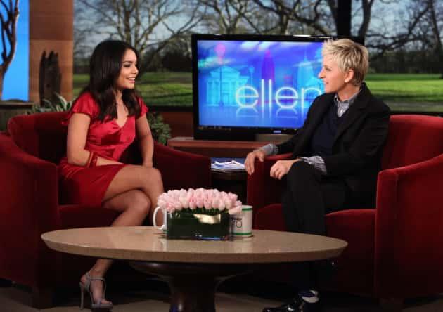 Vanessa Hudgens on Ellen