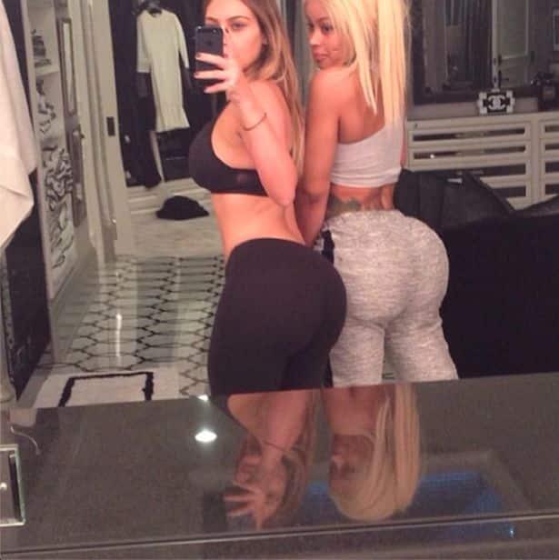 Kim Kardashian and Blac Chyna: Former Besties!