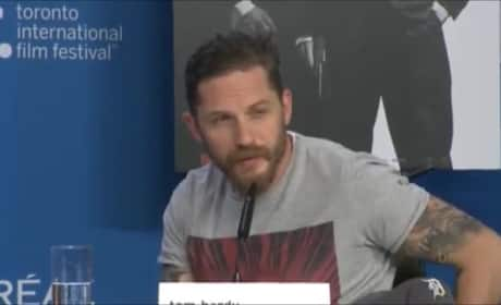 Tom Hardy (Perfectly) Shoots Down Question About His Sexuality